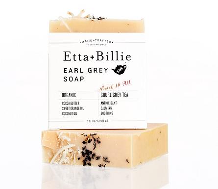 Organic Earl Grey Soap by Etta & Billie