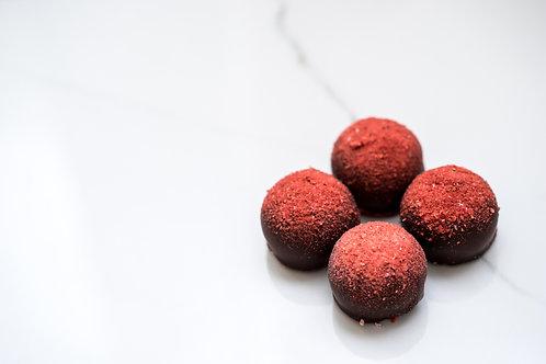 CBD Strawberry Dark Chocolate Bon Bon by Baceae