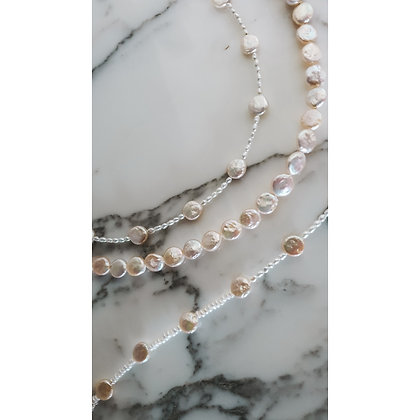 ROUND & PURE PEARL NECKLACE