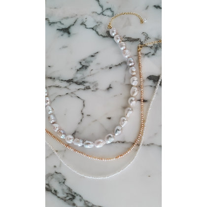 INTENSE  NECKLACE PEARLS