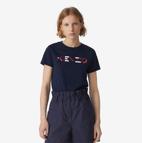 KENZO T-shirt con logo in stampatello