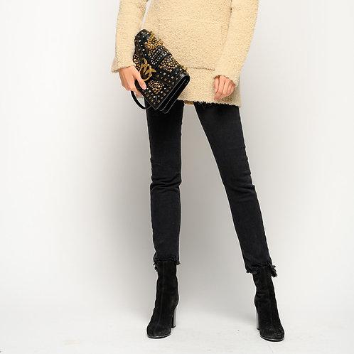 PINKO Jeans skinny con fondo asimmetrico