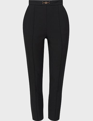 ELISABETTA FRANCHI Pantalone slim  elasticizzato