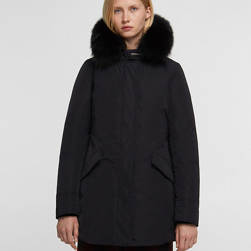 WOOLRICH Arctic parka luxury con volpe donna