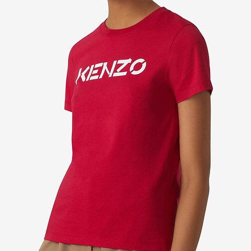 KENZO T-shirt manica corta con logo stampato