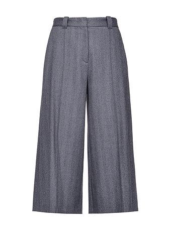 PINKO Pantalone culotte in chevron