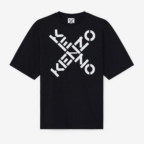 PINKO T-shirt con logo incrociato