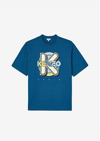 KENZO T-Shirt manica corta over con logo