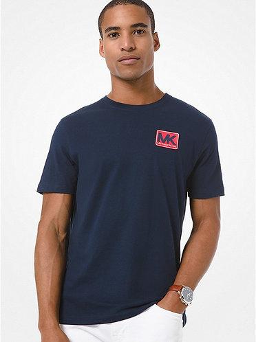 MICHAEL KORS T-shirt in cotone con logo applicato
