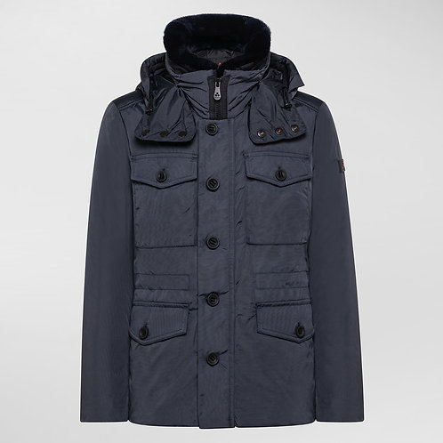 PEUTEREY Field jacket STRITCH OXF 01 FUR