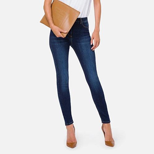 ELISABETTA FRANCHI Jeans skinny a vita alta