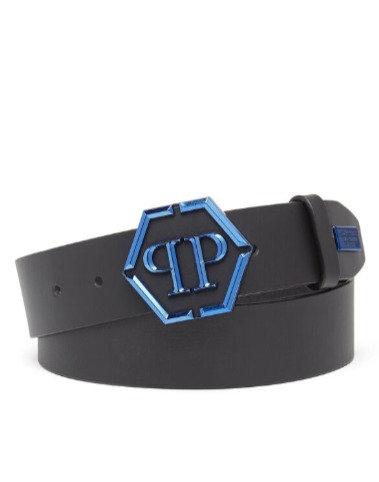 PHILIPP PLEIN Cintura con logo Belt Statement