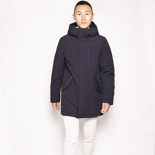 WOOLRICH Stretch mountain parka uomo
