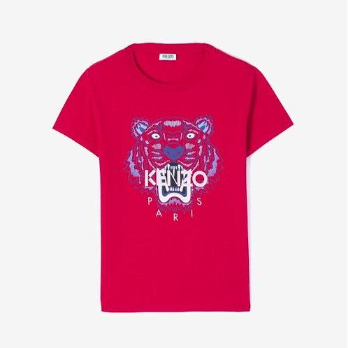 KENZO T-Shirt manica corta con stampa tigre