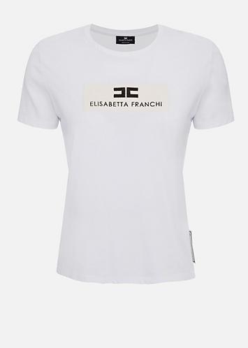 ELISABETTA FRANCHI T-shirt con logo