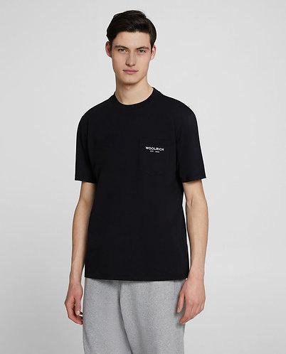 WOOLRICH T-shirt con taschino