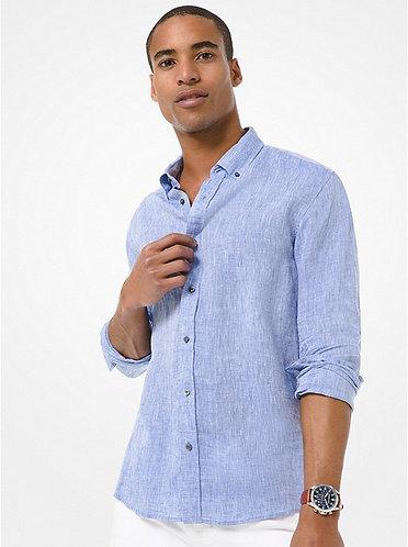 MICHAEL KORS Camicia slim-fit in lino