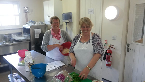Chew Magna Baptist Church Host Cook and Eat Course with Age UK