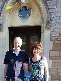 John Miles and Family Pastor Chew Magna Baptist Church