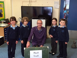Chew Magna Baptist Church Working in Schools