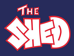 Chew Magna Baptist Church The SHED Youth Club Logo