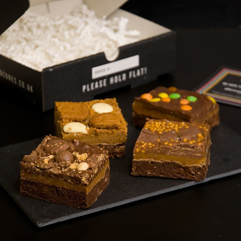 The Millionaires Brownie Box