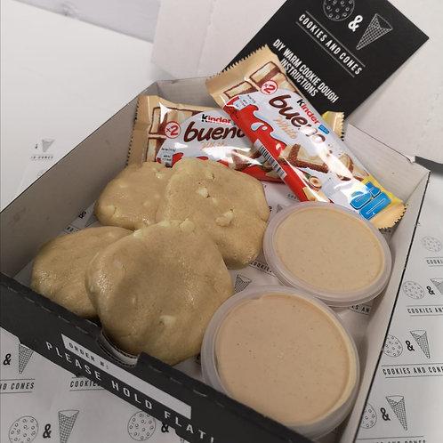 White Bueno Warm Cookie Dough Kit