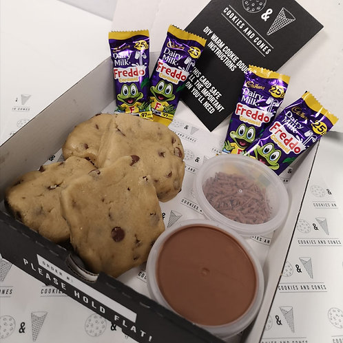 Caramel Freddo Warm Cookie Dough Kit