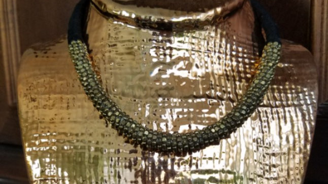 BLK:GOLD Rope Necklace