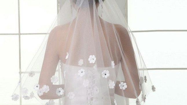 Daisy Wedding Veil
