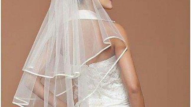 Tulle 2T Wedding Veil