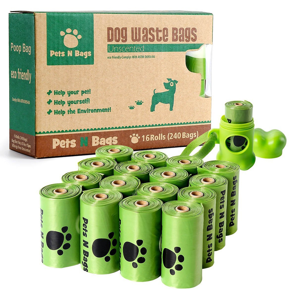 dog waste bags for travel with dogs