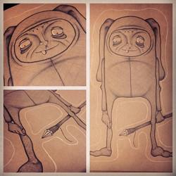 Instagram - Hey yawl!  #draw #art #illustration #drawing  #losangeles #dtla #rab