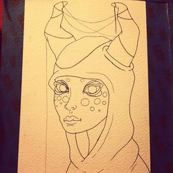 Instagram - Inked!  #sketch #sketchbook #draw #drawing #doodle #illustration #in