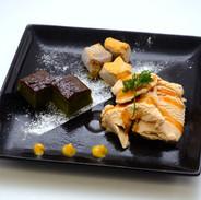 【さとうきびアイスのおきな和プレート】沖縄の甘味が一枚のプレートにギュッと凝縮!