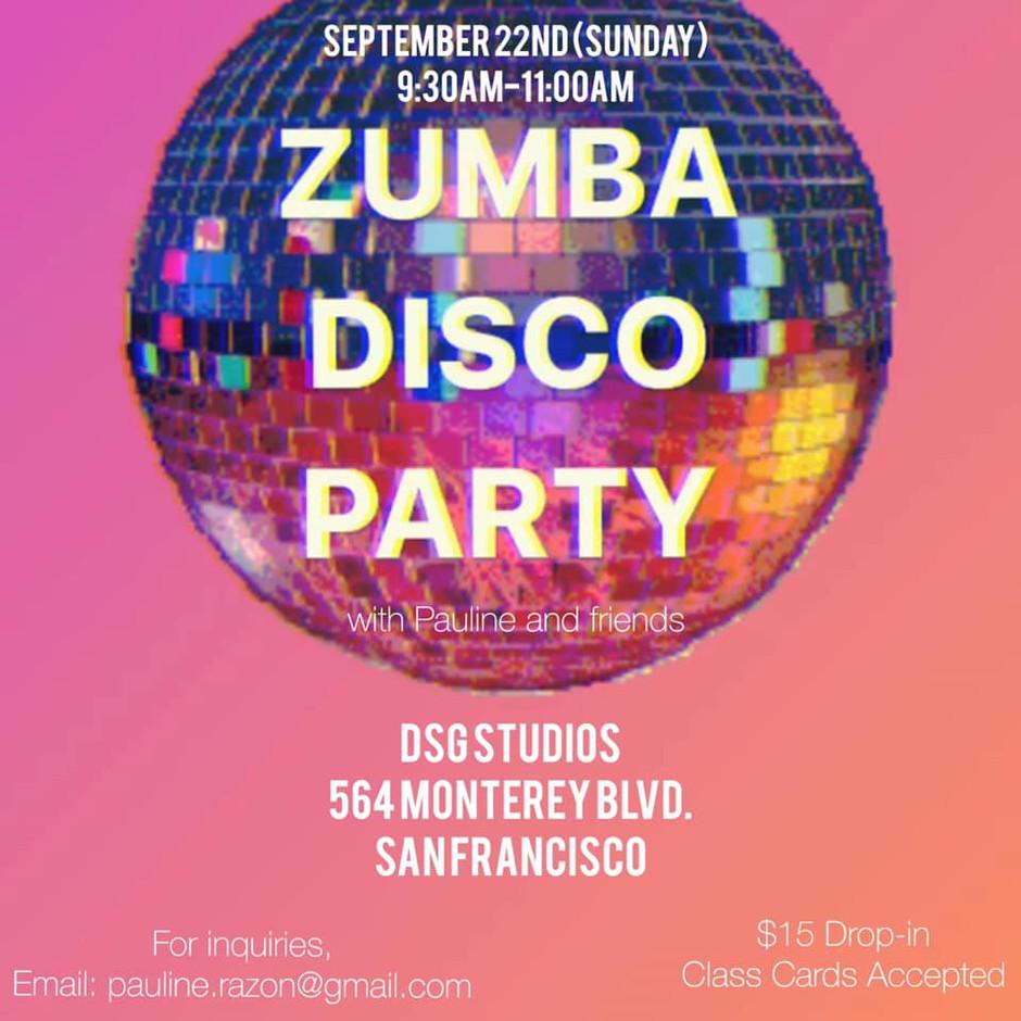 Zumba Disco Party! (9/22)