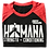 Thumbnail: BLACK / RED  Ho'omana Three-Quarter-Sleeve Shirt