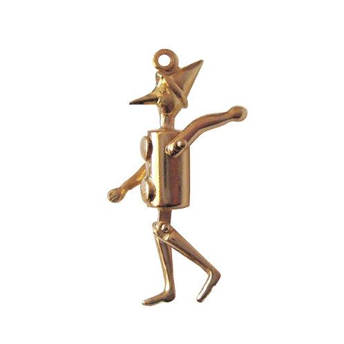 Articulated Pinocchio / Tin Man Charm