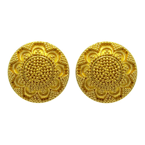 Michael Schofield & Co. 22K Gold Earrings
