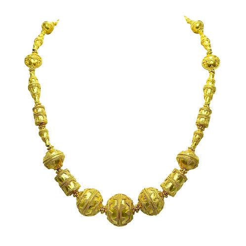 Michael Schofield & Co. 22 Karat Gold Necklace