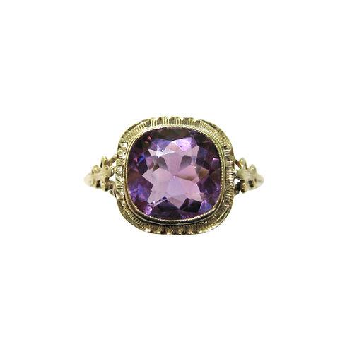 Allsopp Bros. Vintage Amethyst Ring