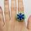 Thumbnail: Lapis Lazuli, Chrysoprase, & Diamond 18K Ring