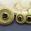 Thumbnail: Garnet Cannetille Demi Parure Earring & Brooch Set