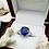 Thumbnail: 6.03ct Blue Sapphire & 1ctw Diamond Platinum Ring