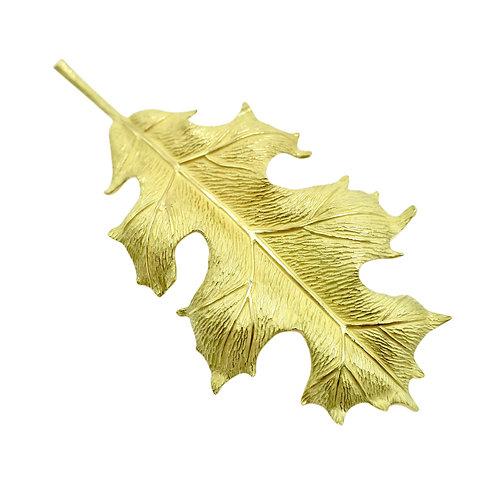 Tiffany & Co. 18K Gold Oak Leaf Vintage Brooch
