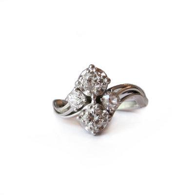 Vintage Diamond & Platinum Ring