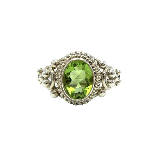 Michael Schofield & Co. Sterling Peridot Ring