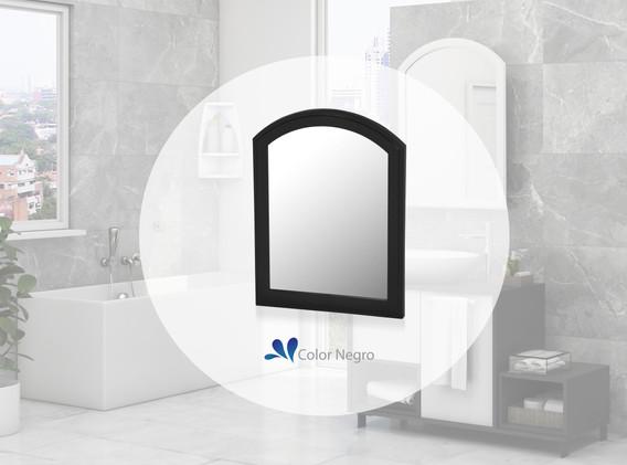 Espejo Basic negro