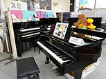 ピアノ 展示