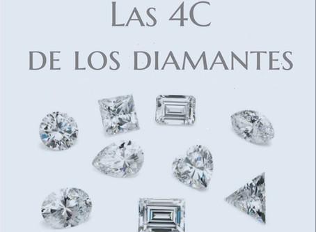 Las 4 C de los diamantes